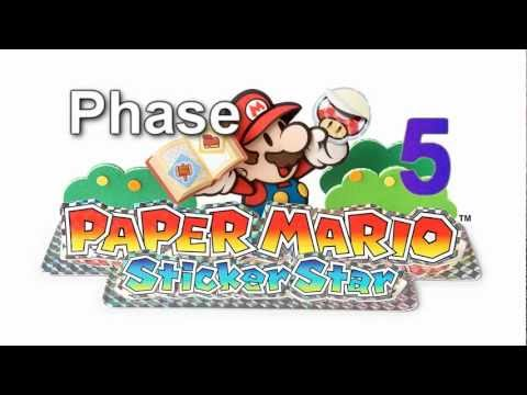 Paper Mario: Sticker Star OST - Gooper Blooper All phases, every 3± Minutes HQ/HD.