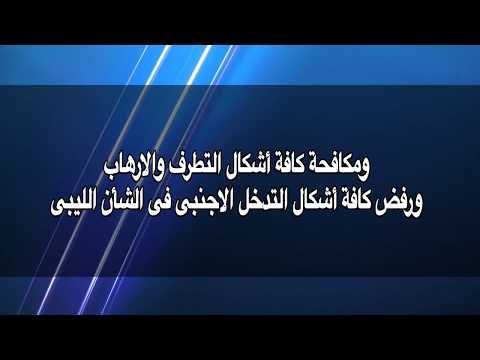 العرب اليوم - بالفيديو : بيان اللجنة المصرية المعنية في ليبيا