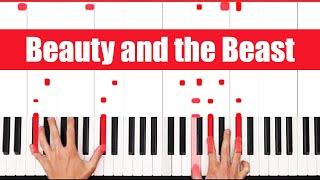 Video Beauty and the Beast Piano Tutorial Ariana Grande John - VOCAL MP3, 3GP, MP4, WEBM, AVI, FLV Juni 2018