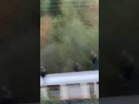 Jedziesz sobie spokojnie, a tu Tom Cruise jedzie na dachu pociągu