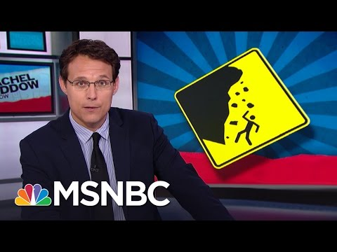 Pollsters See Hint Of Landslide In Donald Trump Fade | Rachel Maddow | MSNBC