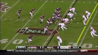 DeQuan Menzie vs Mississippi State 2011