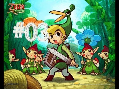 The Legend of Zelda: The Minish Cap - Walkthrough Parte 3 [Español] (GBA)