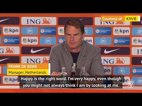 De Boer proud to be appointed Holland's national manager