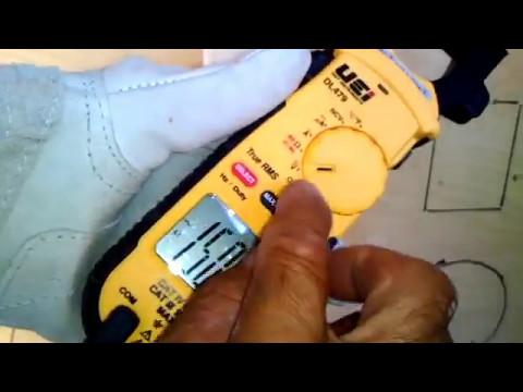Como utilizar diferentes instrumentos de medición (multímetros,pinza amperimétrica,voltímetro,et...)