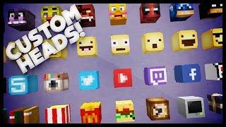 Video Minecraft - How To Get Custom Heads MP3, 3GP, MP4, WEBM, AVI, FLV Mei 2019