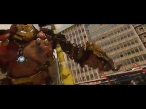 《復仇者聯盟2》浩克VS.鋼鐵人90秒對打完整片段外洩…