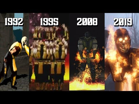 The Evolution of Scorpion's Fatalities (1992-2019)