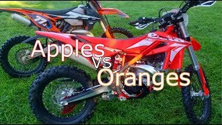 9. Beta 300 Xtrainer Vs KTM 300 XCW Ride Review 1080p Version