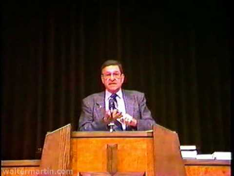 Dr. Walter Martin – Part 1 of 2 – Jehovah's Witnesses and Jesus Christ 1988