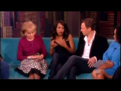 View - Scandal cast (Kerry Washington, Tony Goldwyn, and rest) on The View 5/14/13 part 1 Watch Scandal on ABC Thursdays at 10pm and The View weekdays at 11am.