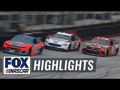2018 Bristol  Highlights (4.17.18) | FOX NASCAR