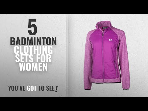 Top 10 Badminton Clothing Sets For Women [2018]: FZ Forza Paisley Ladies Quilted Jacket - 2017