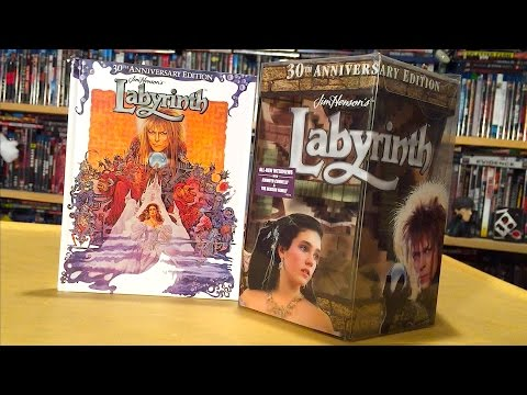 Labyrinth 30th Anniversary Blu-ray Gift Set Unboxing and Review