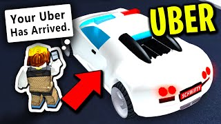 I BECAME AN UBER DRIVER IN MAD CITY and THIS HAPPENED.. (Roblox)