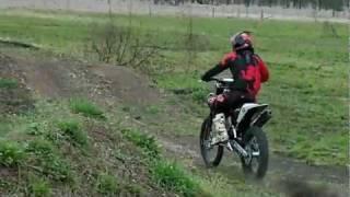 3. 2011 husqvarna tc 449 ridden by Brant Carlyle