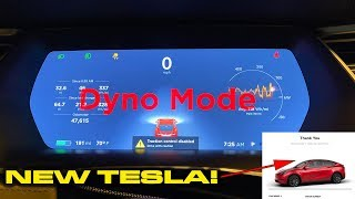 New Tesla DYNO MODE Testing * 0-60 MPH * HOW to activate Dyno Mode * ORDERED a new Tesla! by DragTimes