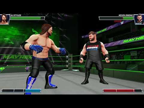 《WWE Mayhem》手機遊戲玩法與攻略教學!