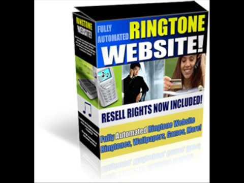 PHP Ringtone Website www.ebooksandscripts.co.cc