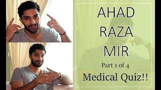 Medical quiz with Ahad Raza Mir aka Dr Asfandyar | Yakeen Ka Safar | 1/4 | Orange Wall TV