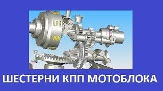 Шестерни КПП мотоблока 6-9 л.с