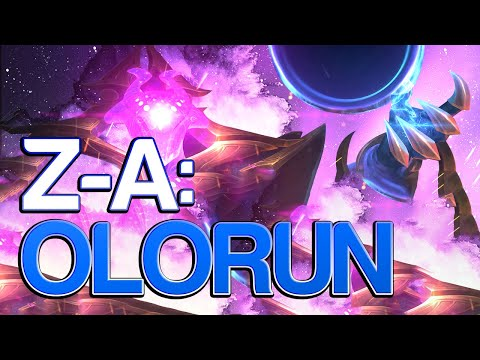 Z - A: UNSTOPPABLE WITH ALL THESE HEALS - Olorun - Smite