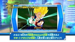 Dragonball Fusions Combat Looks Pretty Awesome