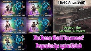Learn more about Nier Banner on the game. Is the banner good? Should you summon? Find out on this video. Thanks for watching, please hit the like button and subscribe to my channel for more ff be guides.
