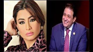 الاعلامية بسمة وهبة تفاجىء زوجها علاء عابد بـ إتصال على الهواء