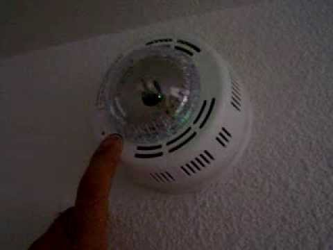 user submitted video - First Alert Smoke Alarm