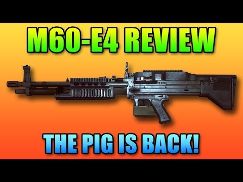 m60 - Hey guys today we're going to review the new M60-E4 LMG for BF4. OriginPC: http://originPC.com My Computer Hardware: http://www.logicalincrements.com/levelca...