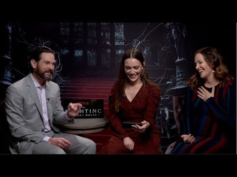 The Haunting of Hill House interviews - Pedretti, Thomas, Seigel, Huisman, Reaser, Jackson-Cohen