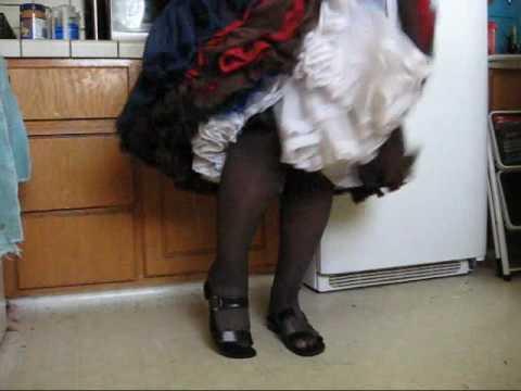 Tammy ia a Blue Skirt