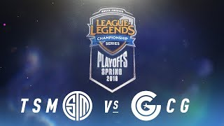 Video TSM vs. CG  | NA LCS Spring Playoffs | Quarterfinals Game 2 | TSM vs. Clutch Gaming (2018) MP3, 3GP, MP4, WEBM, AVI, FLV Agustus 2018