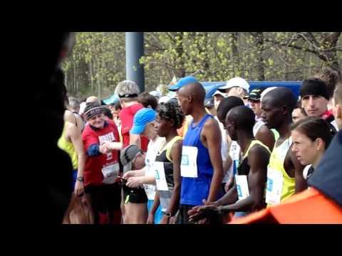 Rolkarze poznań półmaraton 7 malta 06.04.2014 (видео)