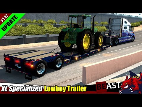 XL Specialized Lowboy Trailer 1.32.x