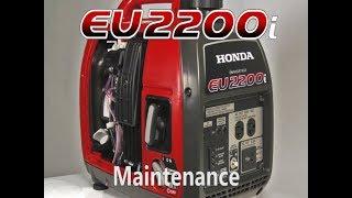 4. Honda EU2200i Generator Maintenance
