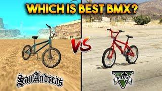 Video GTA 5 BMX VS GTA SAN ANDREAS BMX : WHICH IS BEST? MP3, 3GP, MP4, WEBM, AVI, FLV September 2019
