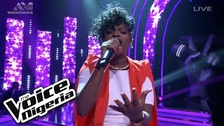 "Brenda sings ""I Wish"" / The Voice Nigeria 2016"