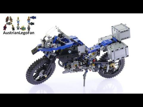 Lego Technic 42063 BMW R 1200 GS Adventure Speed Build