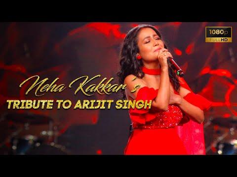 Neha Kakkar | Tribute to Arijit Singh | Vibhor Parashar | Kunal Pandit | Smule Mirchi Music Awards