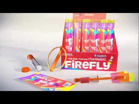 Firefly LED flying toy