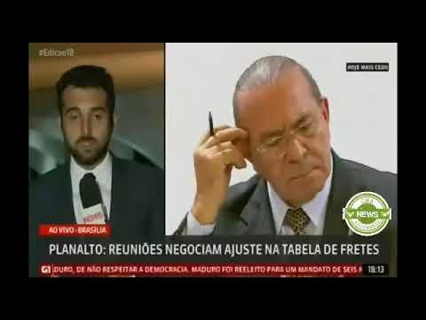 Globo News: Planalto - reuniões negociam ajuste na tabela de fretes