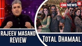 Rajeev Masand Review Of Total Dhamaal