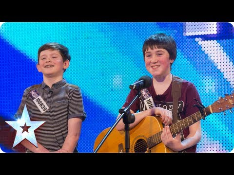 , title : 'Jack and Cormac sing 'Little Talks' | Week 5 Auditions | Britain's Got Talent 2013'