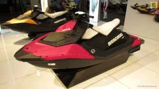 10. 2014 Sea Doo Spark Jet Ski - Walkaround - 2014 Toronto Boat Show