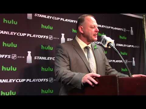 Golden Knights Head Coach Gerard Gallant Post-Game Presser 4/15