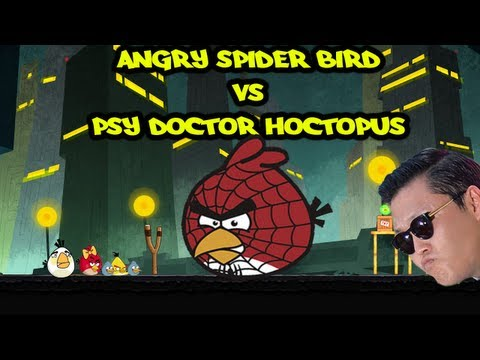 ANGRY BIRDS SPIDERMAN VS DOCTOR PSY HOCTOPUS