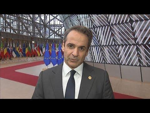 Κυρ. Μητσοτάκης: «Η Ευρώπη υψώνει διπλωματικά τείχη απέναντι στην τουρκική προκλητικότητα»