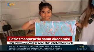 Gaziosmanpaşa Sanat Akademisi Yıl Sonu Gösterileri - Ntv